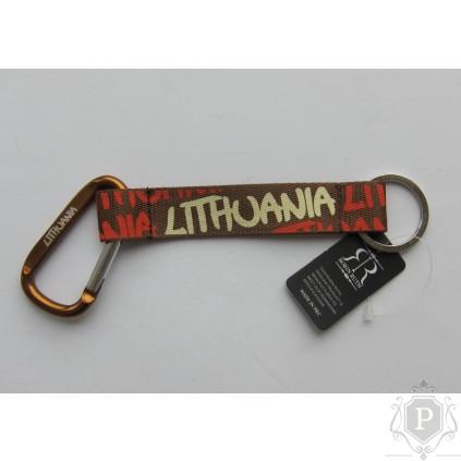 """Raktų pakabukas """"Lithuania Nr.A"""""""