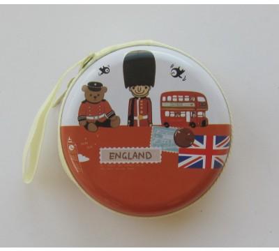 """Piniginė monetoms """"England"""""""