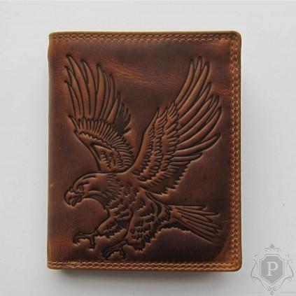 """Vokiška piniginė su ereliu RFID """"Nord"""""""