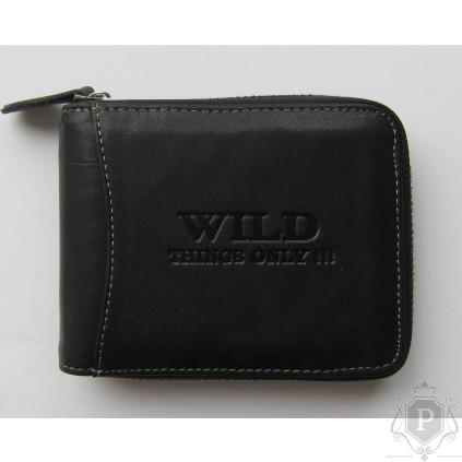 """Vyriška piniginė RFID su užtrauktuku """"Monto"""""""