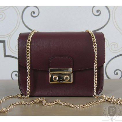 """Maža itališka moteriška rankinė su auksine grandinėle """"Cherry"""""""