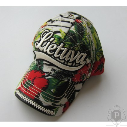 Gėlėta kepurė su snapeliu Lithuania