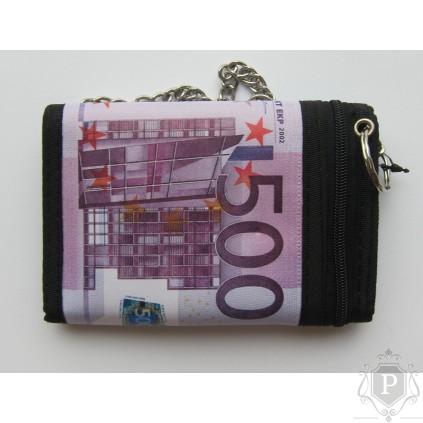 """Vaikiška medžiaginė piniginė """"500 euro"""""""