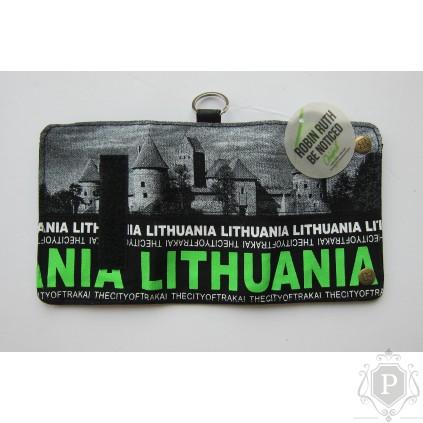 """Piniginė su Lietuvos atributika """"Trakai Gree"""""""