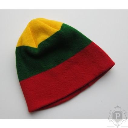 Tautiška kepurė Lietuvos trispalvė