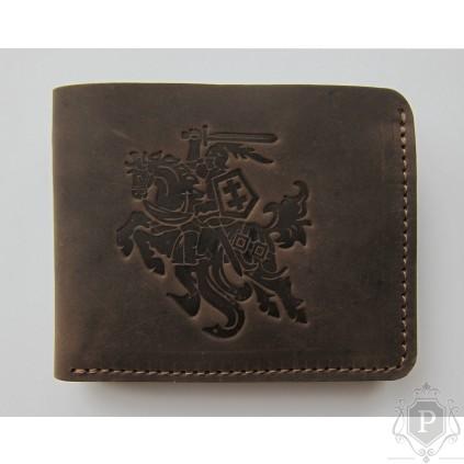 """Lietuviška kišeninė piniginė be užsegimo """"Robertas"""""""