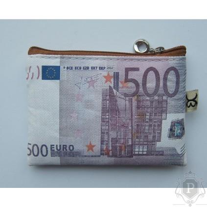 """Piniginė monetoms """"500 euro"""""""