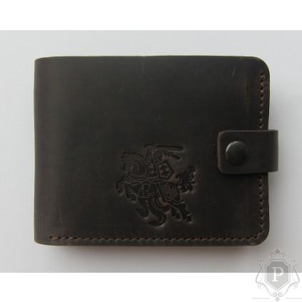 """Lietuviška piniginė su mažu stilizuotu Vyčiu """"Raineris"""""""