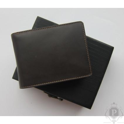 """Vokiška odinė piniginė su suvenyrine medine dėžute """"Present"""""""
