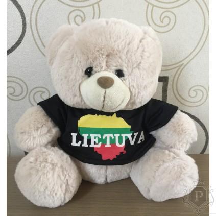 """Didelis pliušinis meškinas """"Lietuva"""""""