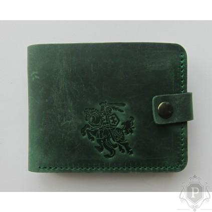 """Lietuviška piniginė su mažu Vyčiu """"Baltenis"""""""