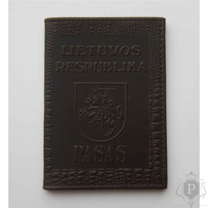 """Lietuviškas paso dėklas """"LT-bordo"""""""