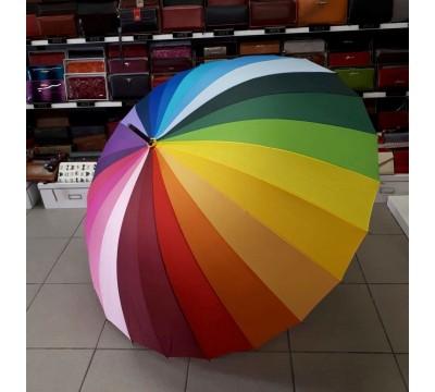 Didelis skėtis vaivorykštė Nr. AW