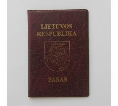 """Paso dėklas """"Passport Nr.A"""""""