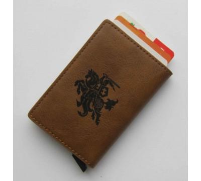 """Inovatyvus dėklas kortelėms RFID su Vyčiu """"Cour"""""""