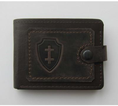 """Lietuviška piniginė su dvigubu kryžiumi """"Jogailaičių raštas"""""""
