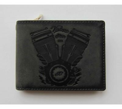 """Vokiška vintage piniginė RFID """"Retro"""""""