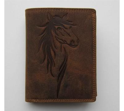 """Vokiška piniginė su arklio atvaizdu RFID """"Adventure"""""""