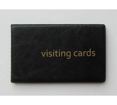 """Plonas kortelių dėklas """"FoxBlack"""""""