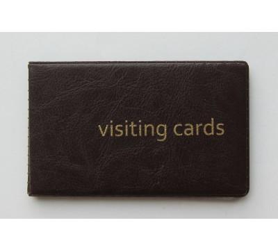 """Plonas kortelių dėklas """"FoxBrown"""""""