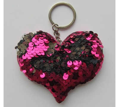"""Blizgantis raktų pakabukas """"Širdutė"""""""