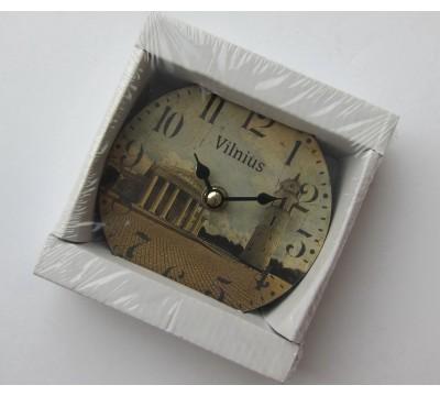 """Suvenyrinis laikrodis """"Vilnius"""""""