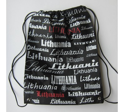 "Sportinis krepšys ""Lithuania Nr.X"""
