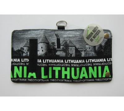 """Piniginė su Lietuvos atributika """"LT d"""""""