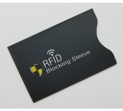RFID dėklas Blocking Sleeve Blu
