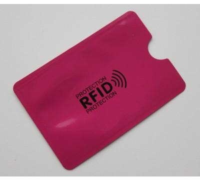 RFID dėklas - apsauga bekontaktėms kortelėms Pink