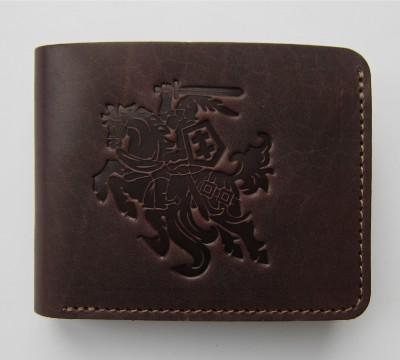 """Lietuviška kišeninė piniginė be užsegimo """"Valentas"""""""
