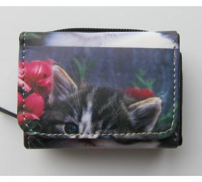 """Vaikiška mini piniginė """"Katinas"""""""