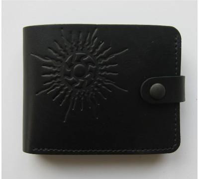 """Lietuviška piniginė su stilizuota saule """"Aurimas"""""""