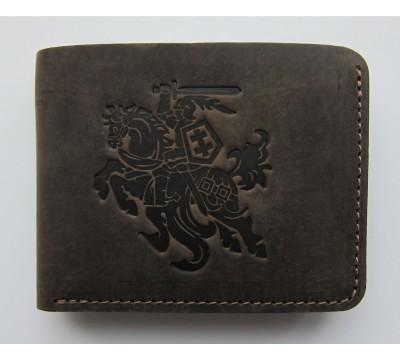 """Lietuviška kišeninė piniginė be užsegimo """"Kasparas"""""""