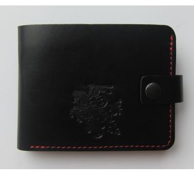 """Lietuviška piniginė su mažu Vyčiu ir raudonu siūlu """"Deimantas"""""""