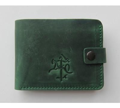 """Lietuviška piniginė su mažu stilizuotu Vyčiu """"Madas"""""""