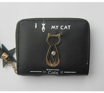 """Maža piniginė su katinu """"Tek"""""""
