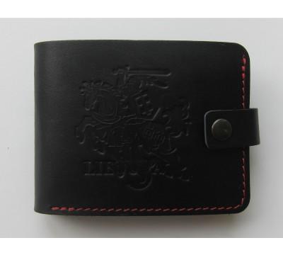 """Lietuviška piniginė su raudonu siūlu """"Kadis"""""""