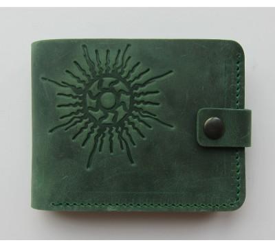 """Lietuviška piniginė su saulės simboliu """"Paulius"""""""