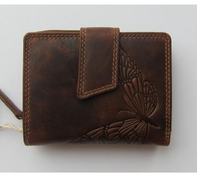 """Vokiška piniginė su drugeliais RFID """"Mada"""""""