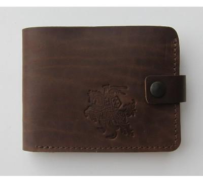 """Lietuviška piniginė su mažo Vyčio simbolika """"Kęstutis"""""""