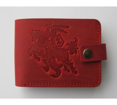 """Kišeninė lietuviška piniginė su Vyčiu """"Ugninė"""""""
