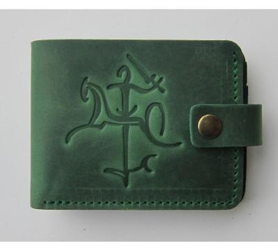 """Kišeninė lietuviška piniginė su stilizuotu Vyčiu """"Vėjas"""""""
