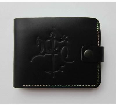 """Spalvoto siūlo piniginė su stilizuotu Vyčiu """"Saturnas"""""""